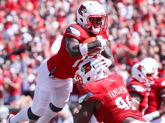 Louisville's Trumaine Washington (No. 15) will be needed Saturday with Jaire Alexander out.