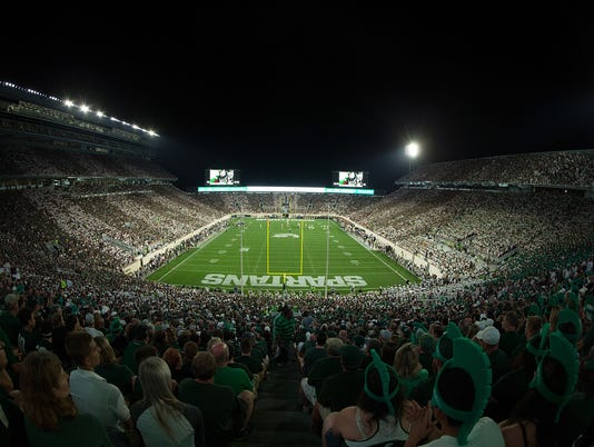 Notre Dame at Michigan State
