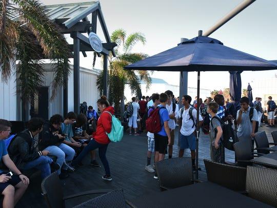 Marco Island Academy, the island's charter high school,