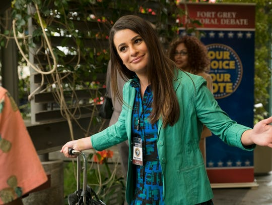 Lea Michele as Valentina on 'The Mayor.'