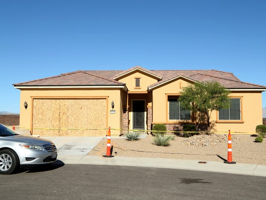MESQUITE, NV - OCTOBER 02:  A general view of the house