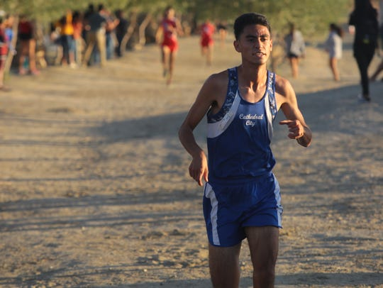 Harin Perzaz finishes second in the second Desert Valley