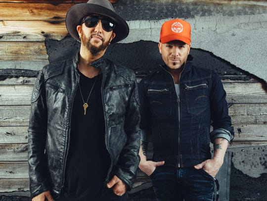 Country duo LoCash will be in concert Dec. 7 at Green