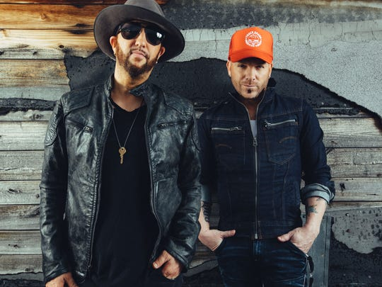 Country duo LoCash will be in concert Dec. 7 at Green Bay Distillery.