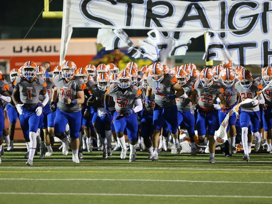 Starkville and Madison Central played in an MHSAA Class