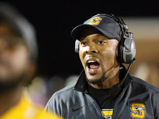 Starkville High School head football coach Chris Jones