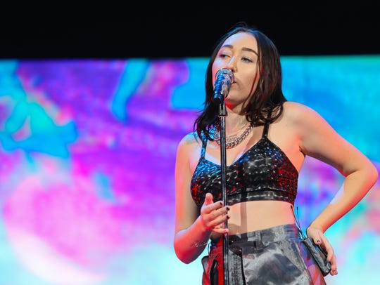 "Noah Cyrus opened for Katy Perry during her ""Witness:"