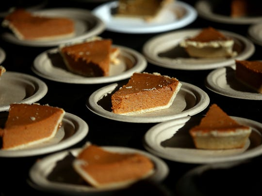 Pumpkin pie is a fall holiday tradition.
