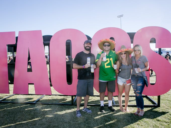 Tacos and fun were on hand in equal measure at the