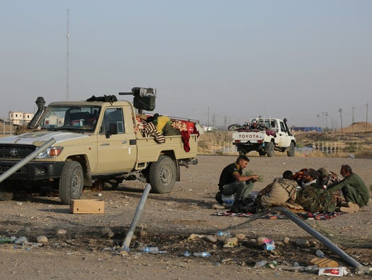 Iraqi forces widen push to recapture territory from Kurds