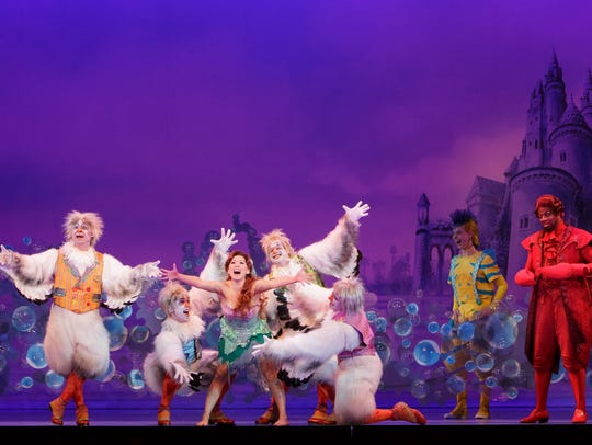 "Disney's ""The Little Mermaid"" runs Oct. 24-29 at the Auditorium Theatre."