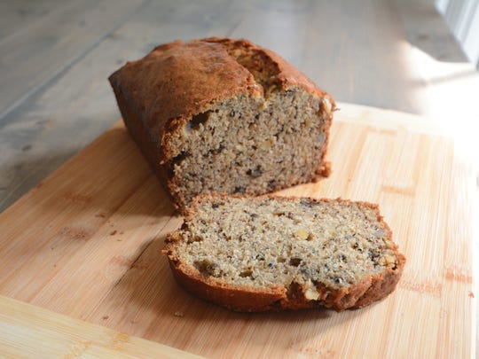 """The """"Banana Banana Bread"""" from allrecipes.com has been my longtime go-to for its simplicity and ease of editing."""