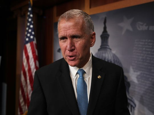 Sen. Thom Tillis, R-N.C., had written a Washington Post OpEd piece on why he could not abide by President Donald Trump's border emergency declaration. On Thursday, he voted against the resolution that would turn back the declaration.