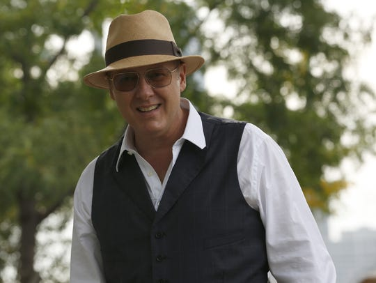 "James Spader as Raymond ""Red"" Reddington in NBC's ""The Blacklist,"" endangered after five seasons on the air."