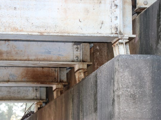 Problems with the Surrey Street Bridge were not apparent in an October 2016 inspection, city workers said.
