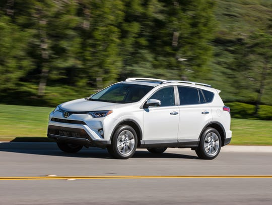Sales of the Toyota  RAV4 compact SUV soared 29%.