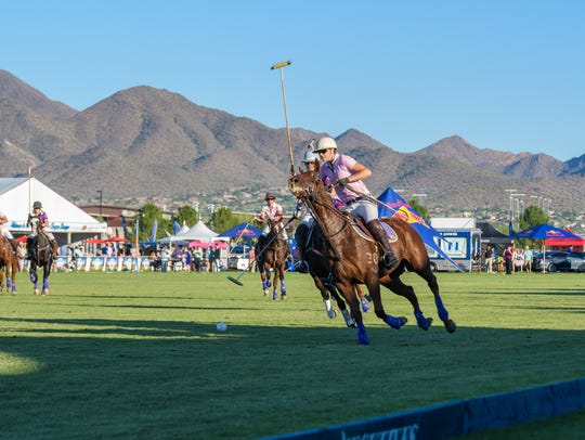 The Bentley Scottsdale Polo Championships take place