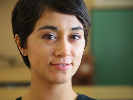 Artist Sofia Enriquez uses art to teach life lessons