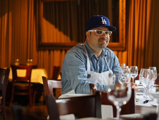 Chef Anthony Lamas at Seviche, A Latin Restaurant in