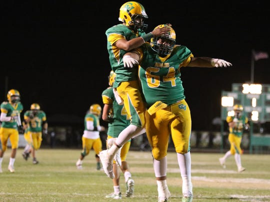 Coachella Valley's Armando Deniz and Ismeal Corral