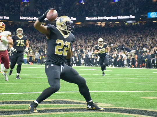 The Rams' defense is 28th in the league against the run and Saints' running back Mark Ingram is hoping to take full advantage of that matchup Sunday.