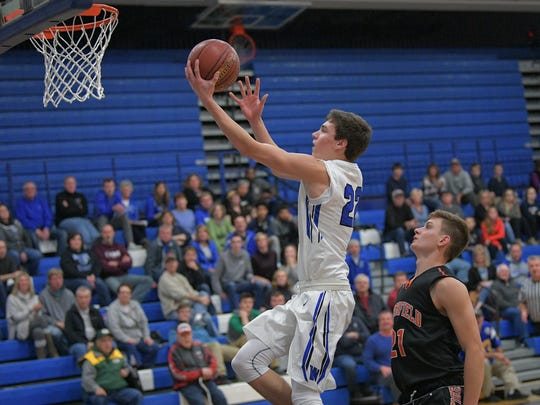 A rare knee condition known as OCD ended Oshkosh West Riley Saginak's high school basketball  career.