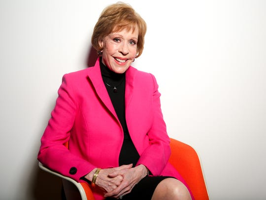 """ Once somebody asked me how old do I really feel, and I said I feel 8, 9, 10 or 11,"" Carol  Burnett says."