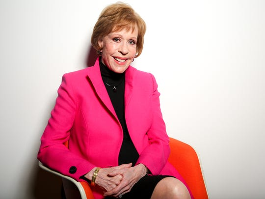 """"""" Once somebody asked me how old do I really feel, and I said I feel 8, 9, 10 or 11,"""" Carol  Burnett says."""