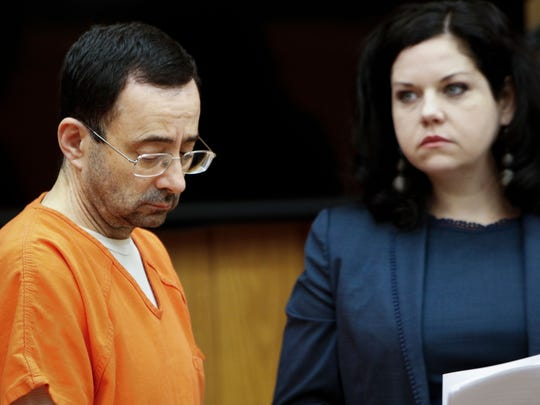 Former gymnastics doctor Larry Nassar appears in Circuit