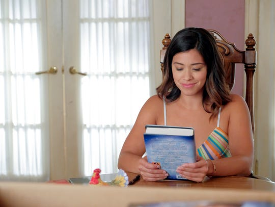 Gina Rodriguez as Jane on 'Jane the Virgin.'