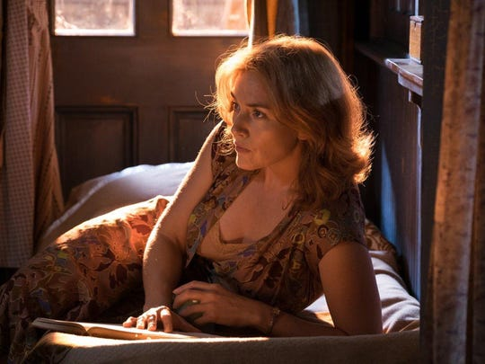 "Kate Winslet channels Blanche DuBois in ""Wonder Wheel."" The movie opens Friday at Frank Theatres Queensgate Stadium 13."