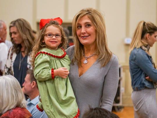 Nicole Blanco and daughter Angelle celebrate mom Kathleen