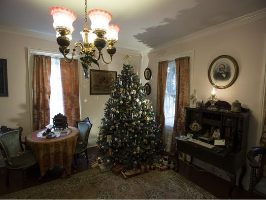 The Ocean County Historical Society is decked out for