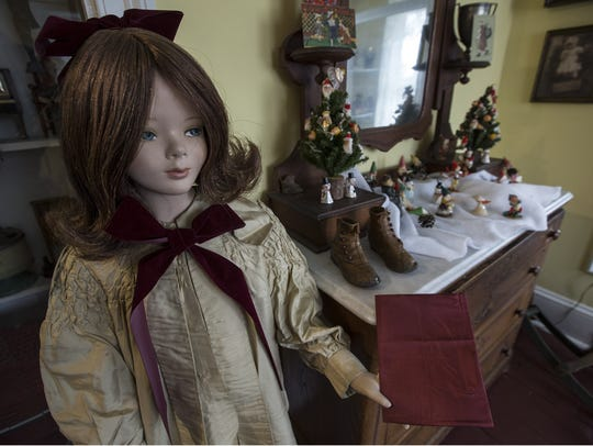 Toys and home furnishings, mainly from the Victorian