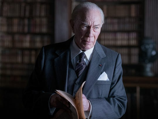 "Christopher Plummer plays J. Paul Getty in the movie ""All the Money in the World."" The Oscar-winning actor was tapped in to replace another Oscar winner, Kevin Spacey."