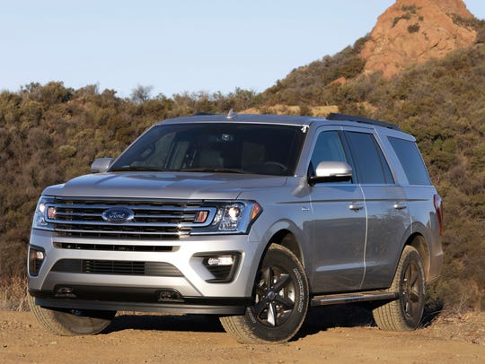 Third place: 2018 Ford Expedition