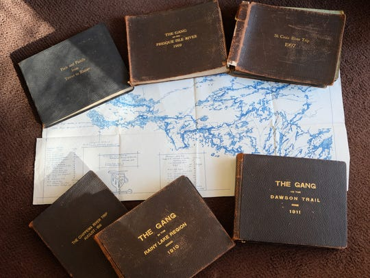 Journals from Howard Greene's canoe trips.