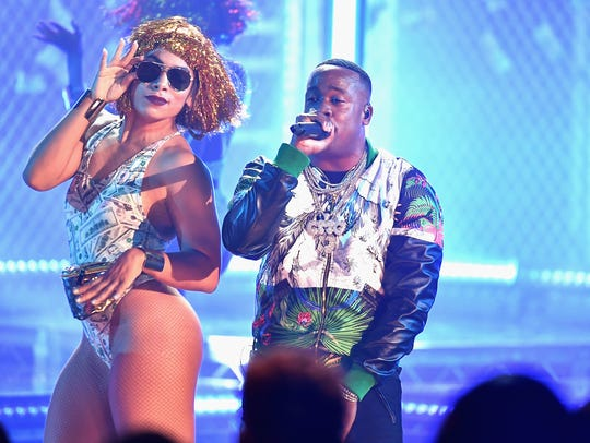 Yo Gotti performs onstage during the BET Hip Hop Awards