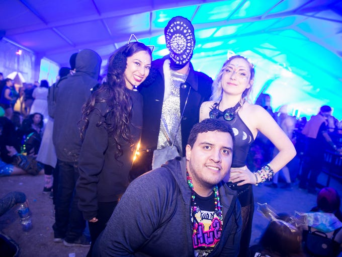 There were so many amazing outfits at Decadence at