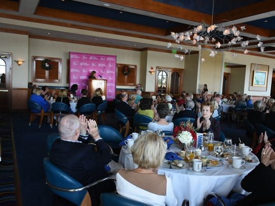 National journalist Dahlia Lithwick spoke to a Planned Parenthood luncheon on Dec. 14 at the Naples Sailing & Yacht Club.