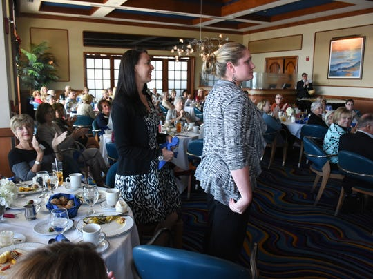 Naples Planned Parenthood team standouts Andrea Fostino, PhD, and Diana Peightell rise to be recognized