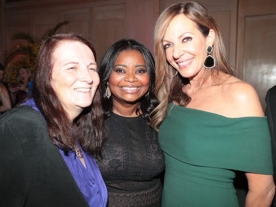 Allison Janney and Octavia Spencer attend the Palm Springs International Film Festival Gala after party, January 2, 2017.