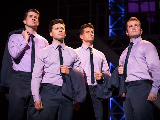 "Jersey Boys, ""My Eyes Adored You."""
