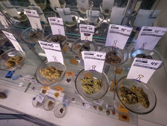 Medical marijuana at Canna Can Help Inc. on Thursday,