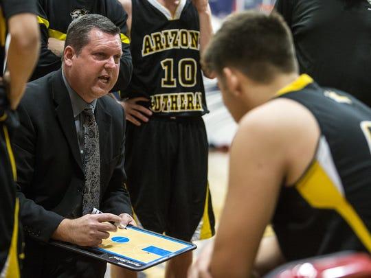 Arizona Lutheran Academy head coach Doug Meyer talks