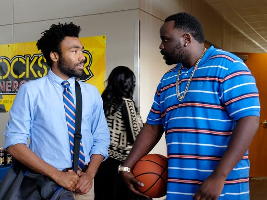 Donald Glover, left, plays Earn Marks and Brian Tyree