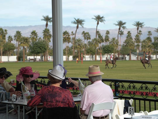 Empire Polo Club has its opening day for the 2018 season in Indio, Calif., January 7, 2018.