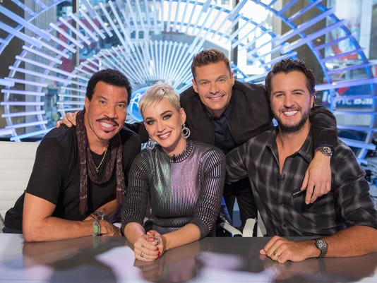 LIONEL RICHIE, KATY PERRY, RYAN SEACREST, LUKE BRYAN