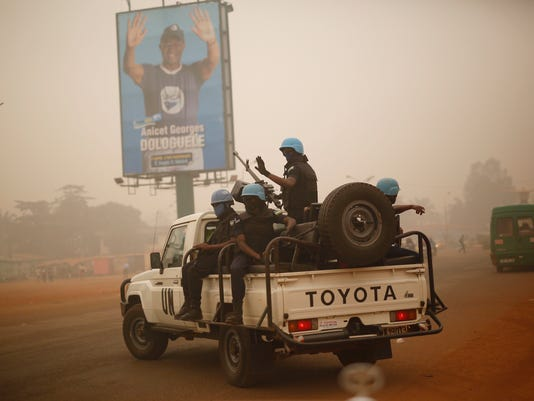 XXX _CENTRAL AFRICAN REPUBLIC-UN PEACEKEEPERS_1507.JPG I FILE CAF