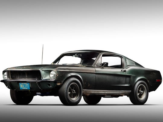 The 1968 Ford Mustang Fastback, serial #8R02S125559 from the 1968 movie Bullitt, was recorded as the 21st automobile on the National Historic Vehicle Register.